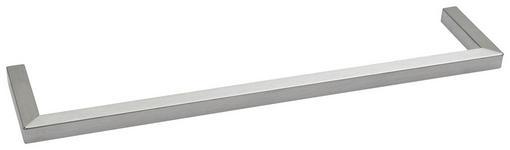 HANDTUCHHALTER 40/1,5/8,5 cm  - Silberfarben, Design, Metall (40/1,5/8,5cm) - Dieter Knoll