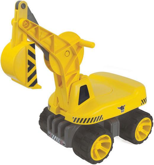 Big Power Worker Maxi-Digger Big - Gelb/Schwarz, Basics, Kunststoff (73/32/30cm) - BIG