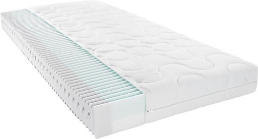 KALTSCHAUMMATRATZE 100/200 cm - Weiß, Basics, Textil (100/200cm) - Xora