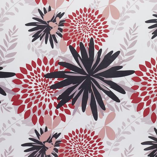 VORHANGSTOFF per lfm blickdicht - Beige/Rot, KONVENTIONELL, Textil (150cm) - Esposa