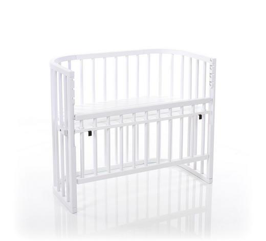 BEISTELLBETT Babybay Comfort - Weiß, LIFESTYLE, Holz (94/52/79cm) - Tobi