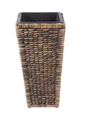 PLANTERINGSKRUKA - mörkbrun, Lifestyle, ytterligare naturmaterial/plast (27/27/52cm) - Landscape