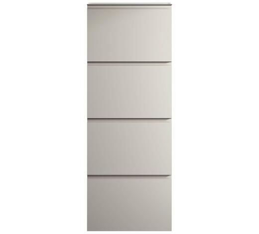 SCHUHSCHRANK 60/161/22 cm - Weiß, Design, Glas/Holzwerkstoff (60/161/22cm) - Moderano