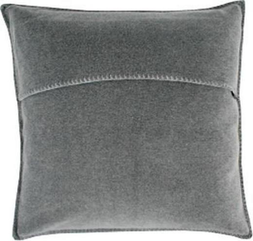 KISSENHÜLLE Anthrazit 50/50 cm - Anthrazit, Basics, Textil (50/50cm) - Zoeppritz