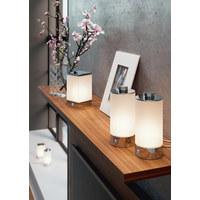 LED-TISCHLEUCHTE - Chromfarben, Design, Kunststoff/Metall (10/10/19cm) - Joop!