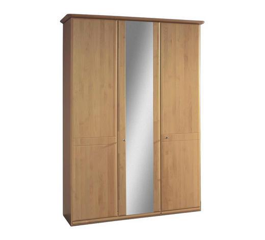 SCHRANK Erle teilmassiv Erlefarben  - Erlefarben, KONVENTIONELL, Holz/Holzwerkstoff (150/217/63cm) - Venda