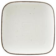 Porzellan  DESSERTTELLER  quadratisch - Creme, Basics, Keramik (22/22cm) - Ritzenhoff Breker