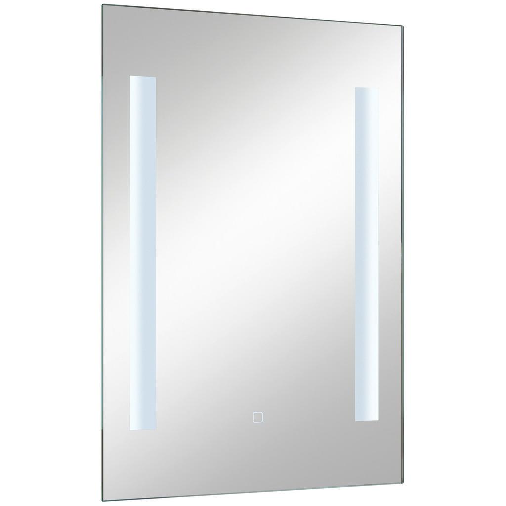 Image of Xora Badezimmerspiegel 50/70/3 cm , 980.835020 , Glas , 50x70x3 cm , verspiegelt , feuchtraumgeeignet, In verschiedenen Grössen erhältlich, senkrecht montierbar , 001977022501