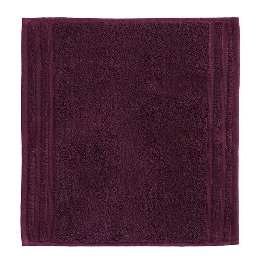 SEIFTUCH - Aubergine, Basics, Textil (30/30cm) - VOSSEN