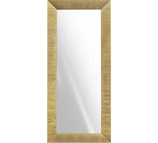WANDSPIEGEL - Goldfarben, Design, Glas/Holz (79/179cm)