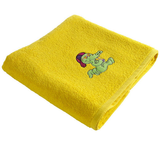 OSUŠKA, 70/130 cm, žlutá - žlutá, Konvenční, textil (70/130cm) - Ben'n'jen
