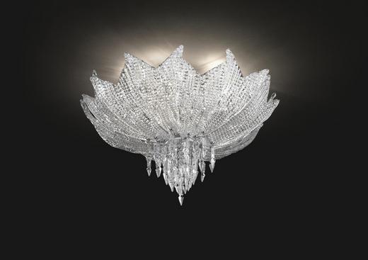 DECKENLEUCHTE - MODERN, Glas/Metall (80/30cm)