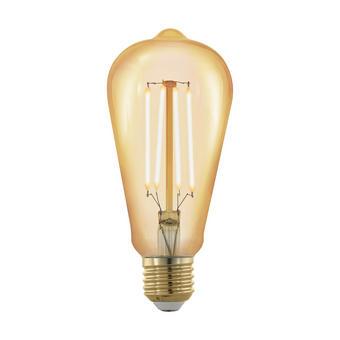 LED ŽÁROVKA - čiré, Basics, sklo (14,2cm)