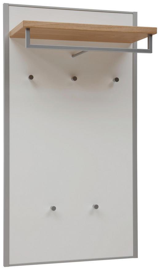 GARDEROBENPANEEL Eiche furniert lackiert Eichefarben, Weiß - Eichefarben/Weiß, MODERN, Holz (60/109/27cm) - Dieter Knoll