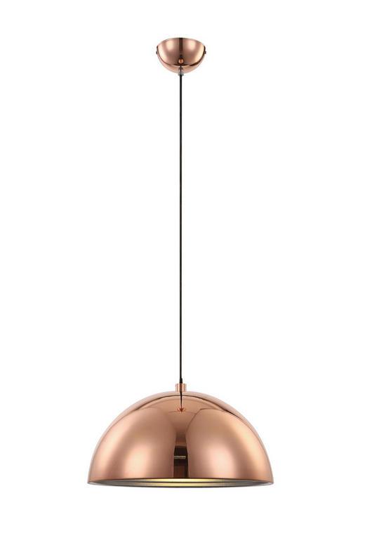 HÄNGELEUCHTE - Kupferfarben, LIFESTYLE, Metall (40cm)