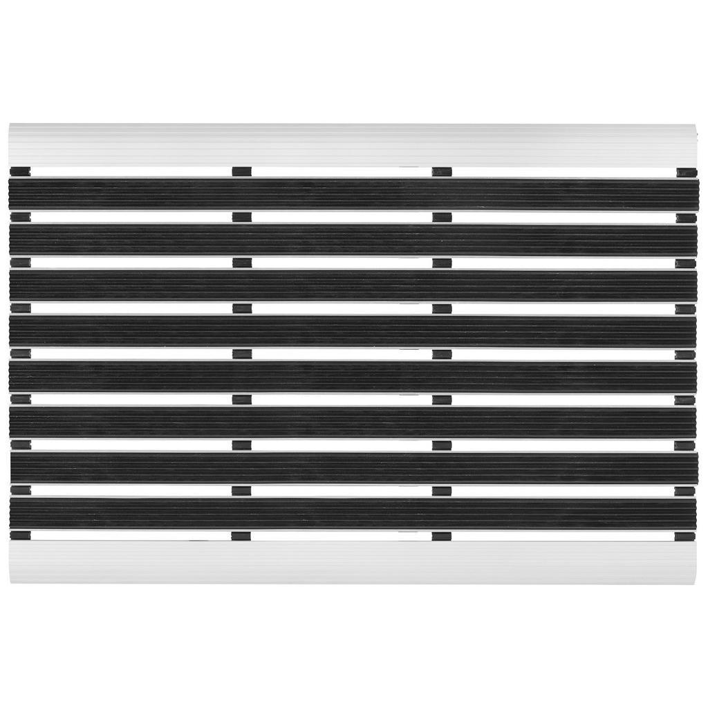 Esposa Fußmatte 40/60 cm uni schwarz
