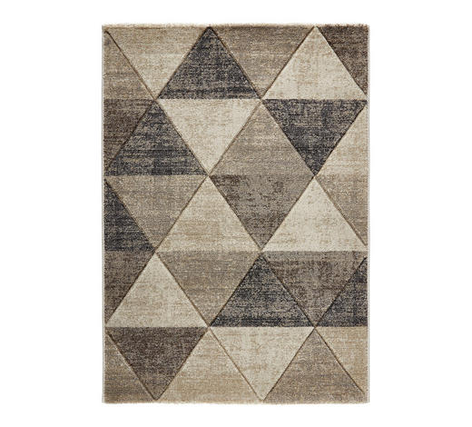 WEBTEPPICH  133/190 cm  Grau   - Grau, Design, Naturmaterialien/Textil (133/190cm) - Novel