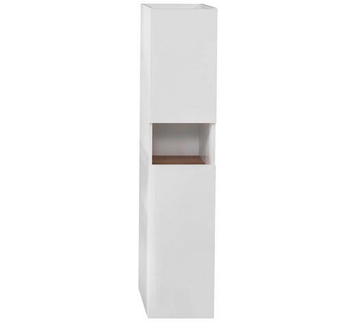 MIDI SKŘÍŇKA, bílá, barvy dubu - bílá/barvy dubu, Konvenční, kompozitní dřevo (30/140/33cm) - Xora
