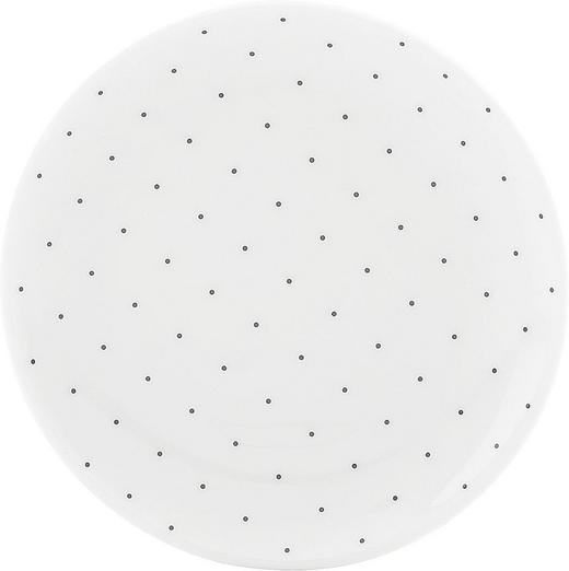 SCHALE Keramik Porzellan - Schwarz/Weiß, Basics, Keramik (9,4cm) - Seltmann Weiden