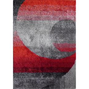 RYAMATTA - röd/grå, Klassisk, textil (120/170cm) - Novel
