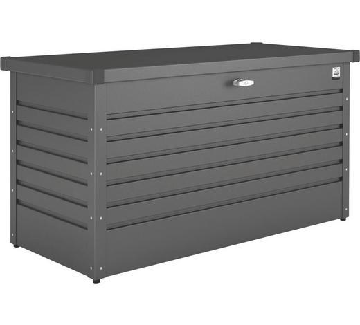 KISSENBOX 160/79/83 cm - Dunkelgrau, Basics, Metall (160/79/83cm) - Biohort
