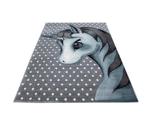 KINDERTEPPICH 120/170 cm - Blau/Weiß, Trend, Textil (120/170cm) - Ben'n'jen