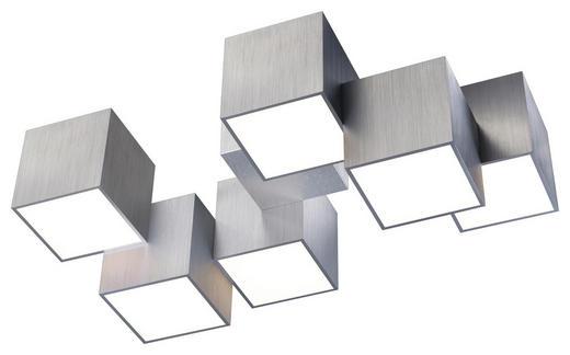 LED-DECKENLEUCHTE - Alufarben, Design, Metall (50/30/20cm)