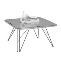 COUCHTISCH in Grau, Schwarz - Schwarz/Grau, Design, Holzwerkstoff/Metall (80/80/42cm) - Carryhome
