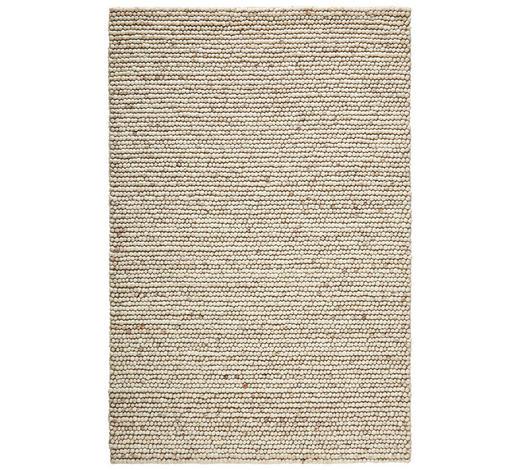 HANDWEBTEPPICH  130/200 cm  Creme - Creme, KONVENTIONELL, Textil (130/200cm) - Linea Natura