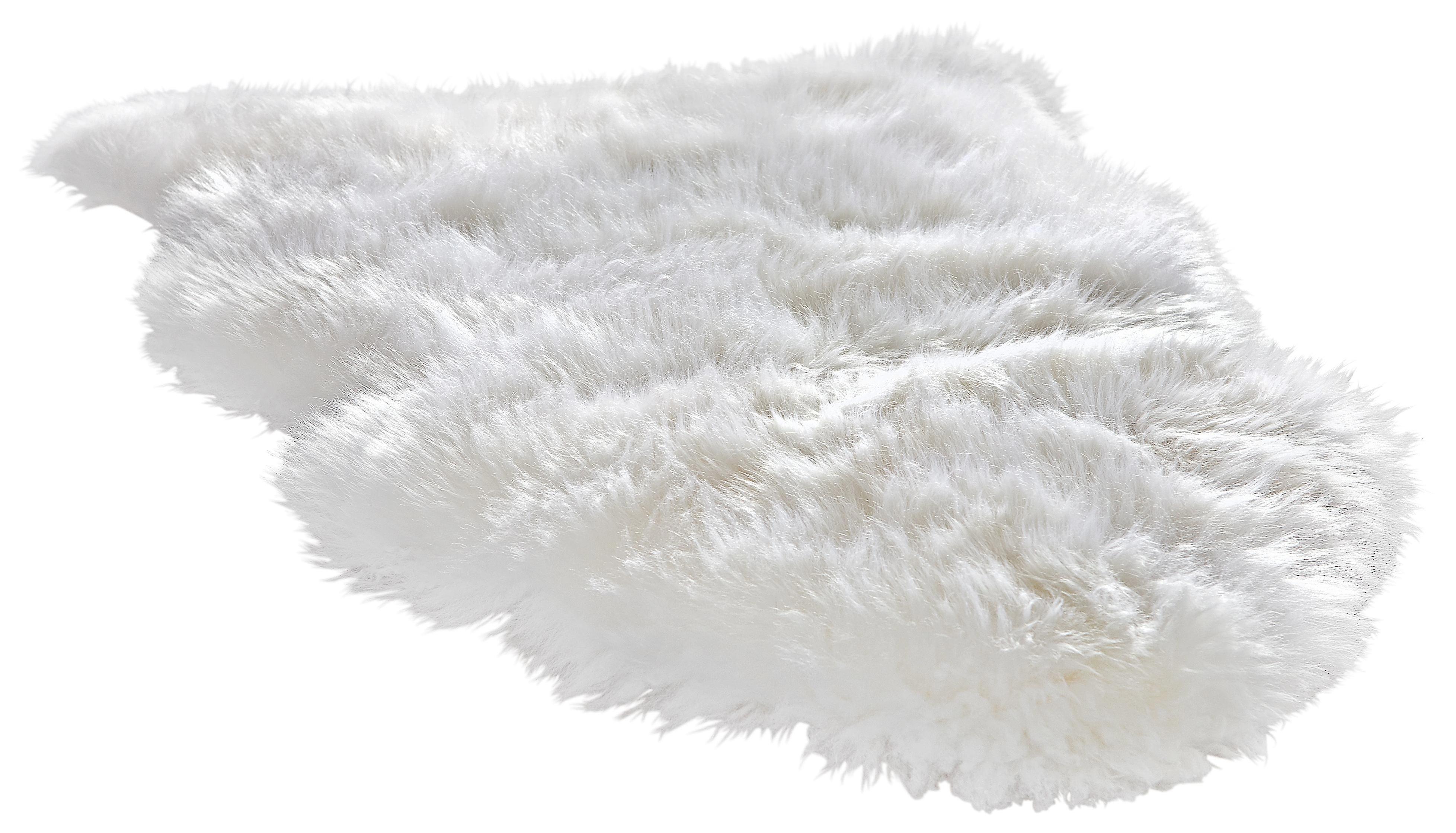 SCHAFFELL  Weiß  60/95 cm - Weiß, Basics, Leder/Textil (60/95cm) - LINEA NATURA