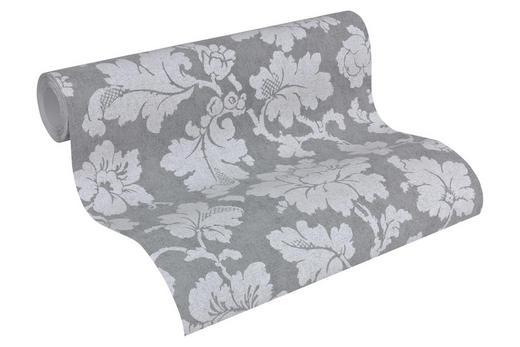 VLIESTAPETE 10,05 m - Silberfarben/Rosa, Design, Textil (53/1005cm)