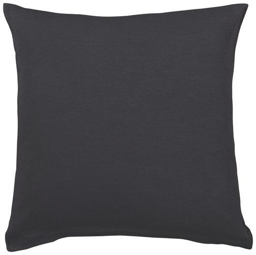 KISSENHÜLLE Dunkelgrau 40/40 cm - Dunkelgrau, Basics, Textil (40/40cm) - Schlafgut