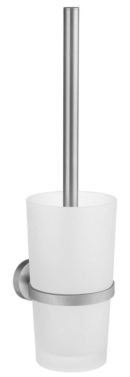 WC-BÜRSTENGARNITUR - Basics, Glas/Kunststoff (38cm)