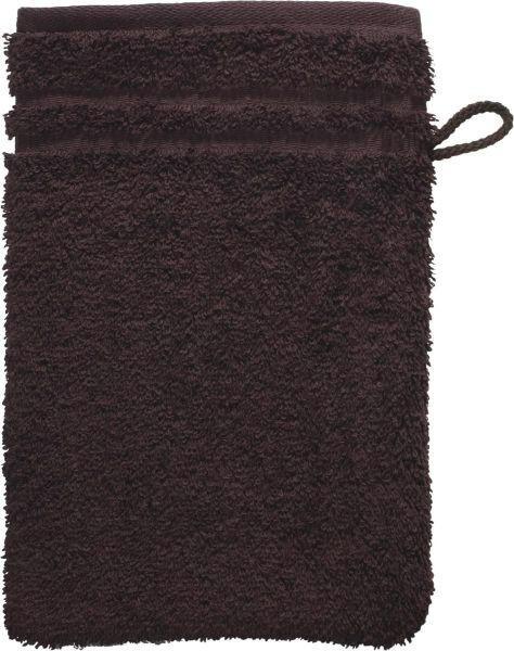 WASCHHANDSCHUH  Dunkelbraun - Dunkelbraun, Basics, Textil (22/16cm) - Vossen