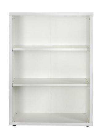 REGAL Weiß - Weiß, KONVENTIONELL, Holzwerkstoff (81,6/111,9/35,7cm) - Carryhome