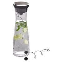 Wasserkaraffe inkl. 2 Spieße 1 L - Basics, Glas/Kunststoff (7,7/18/cm) - WMF