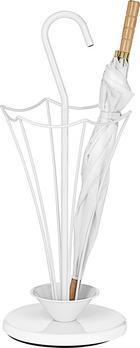 SCHIRMSTÄNDER - Weiß, Design, Metall (30,50/74,20/30,50cm) - BOXXX