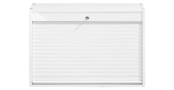 ROLLO-EINSATZ Weiß  - Weiß, Design (76/51,4/39cm) - Voleo