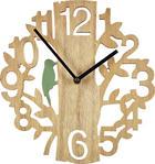 HODINY NÁSTĚNNÉ - přírodní barvy, Natur, dřevo/umělá hmota (27,5/29,5/3,8cm) - Ambia Home