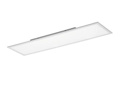 LED-DECKENLEUCHTE - Weiß, Design, Metall (30/120cm)