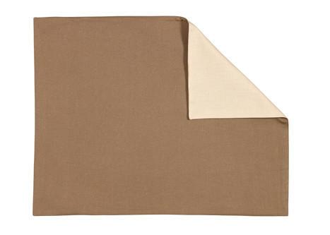 TISCHSET 35/46 cm - Schlammfarben/Naturfarben, Basics, Textil (35/46cm) - LINUM