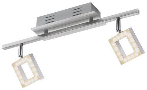 LED REFLEKTOR - Boja aluminijuma/Boje hroma, Dizajnerski, Plastika/Metal (44,5/8/19cm) - Novel