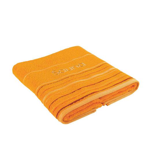 RUČNÍK DO SAUNY - oranžová, Konvenční, textil (70/200cm) - Esposa
