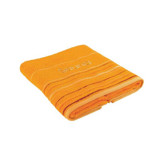 Saunatuch 70/200 cm  - Orange, Konventionell, Textil (70/200cm) - Esposa