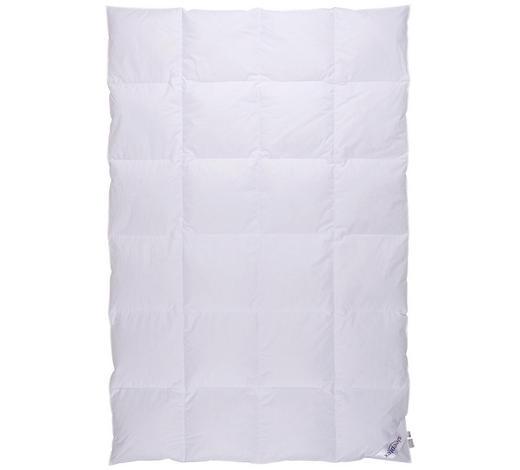 PŘIKRÝVKA CELOROČNÍ, 140/200 cm, peří, prachové peří - bílá, Basics, textil (140/200cm) - Sleeptex