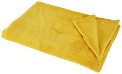 KUSCHELDECKE 130/170 cm  - Gelb, Basics, Textil (130/170cm) - Boxxx