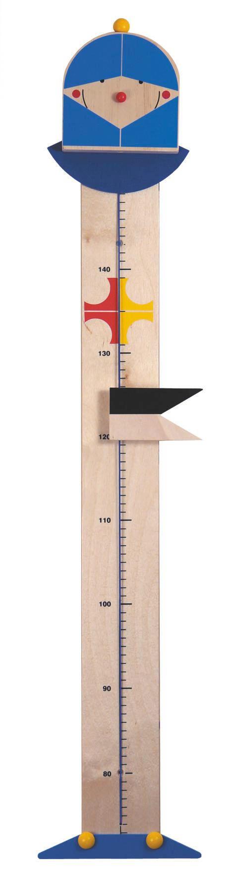 Niermann Messlatte Ritter - Blau, Basics, Holz (150cm)