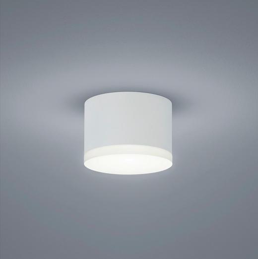 LED-DECKENLEUCHTE - Weiß, Design, Metall (10/7cm) - Helestra