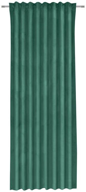 GARDINLÄNGD - grön, Klassisk, textil (135/255cm)