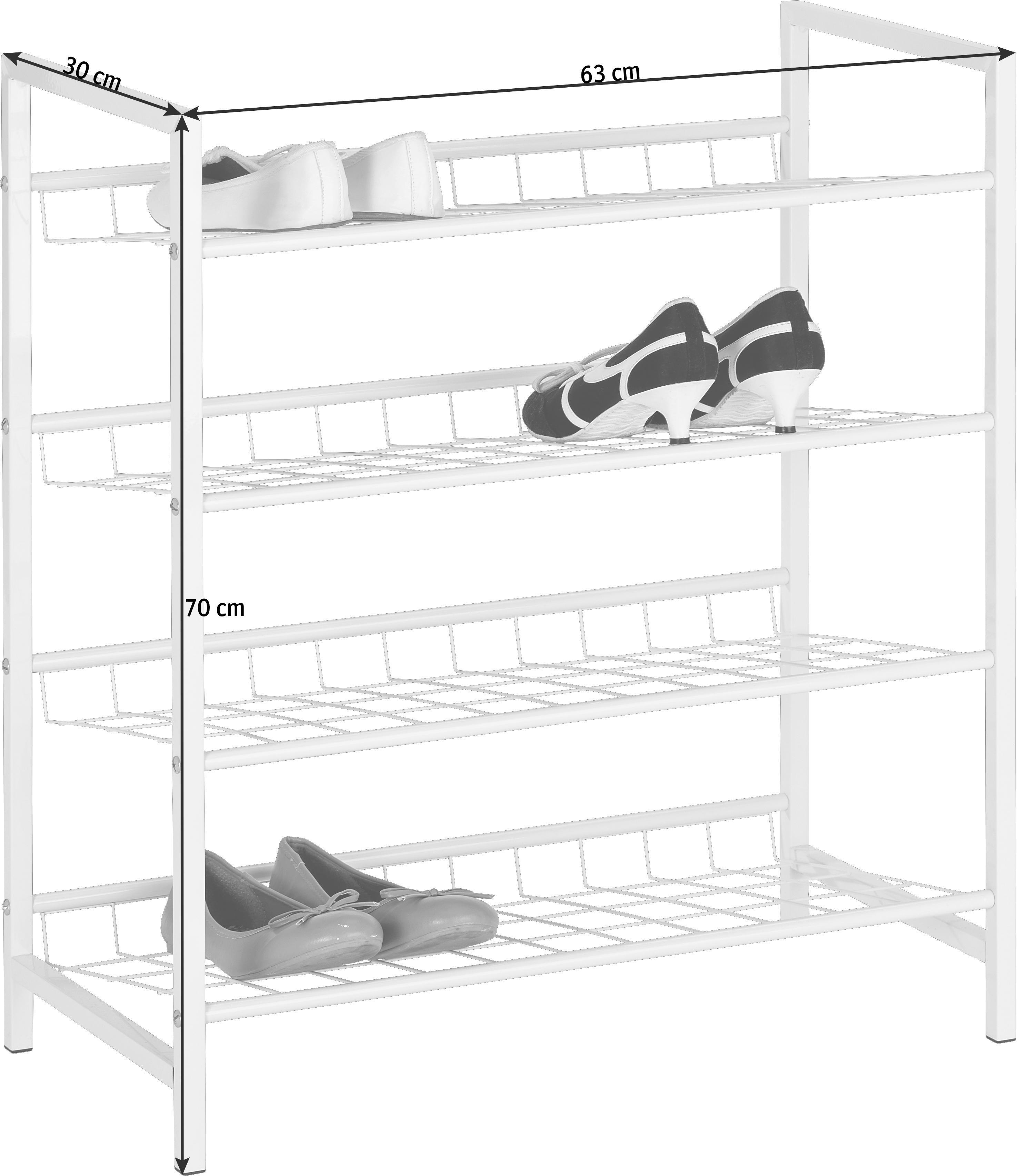 Großartig Schuhschrank 30 Cm Tief Galerie Von